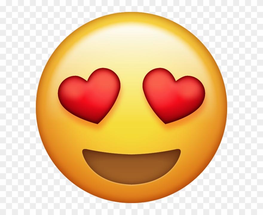 Download Heart Eyes Emoji [free Iphone Emoji Images.