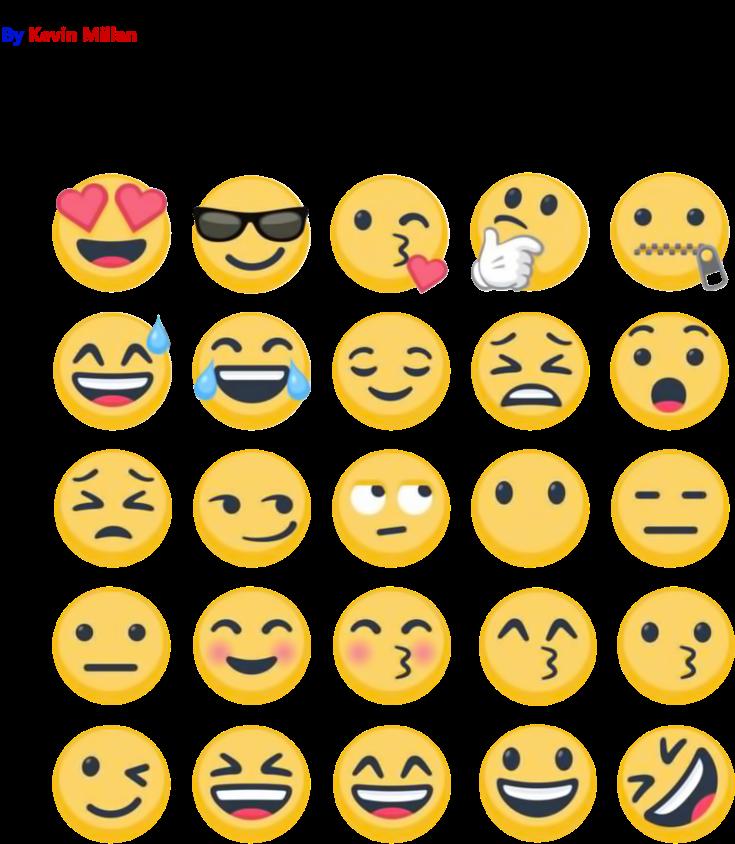 HD Emojis Png 2017.