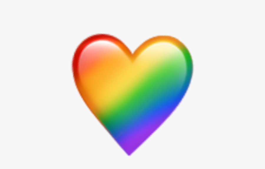 rainbow #heart #emoji #emojis #aesthetic #tumblr.