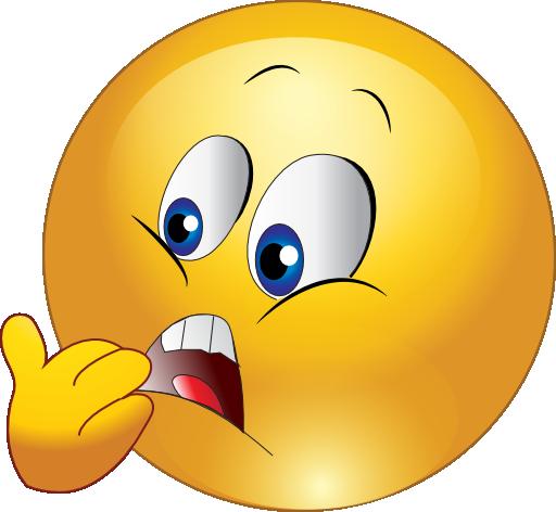 Clip Art Yellow Face Emoticon Clipart.