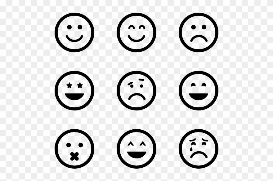 Emoticon Icon Packs Vector Svg Psd.