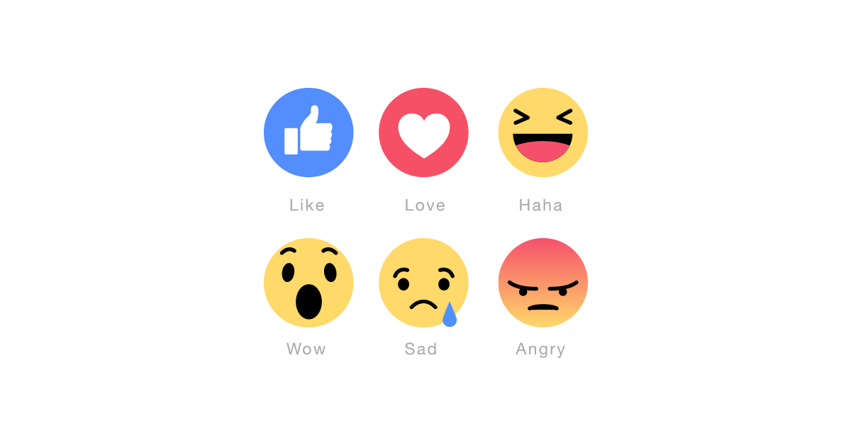 New Facebook Emoticons Vector Pack Free Download.