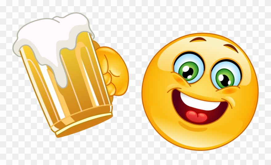 Beer Mug Emoji Decal.