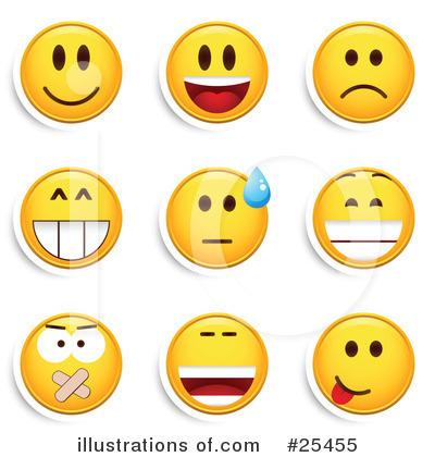 Emoticons clip art.