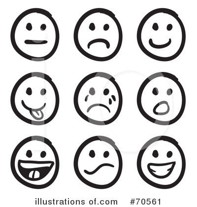 Emoticon clip art.