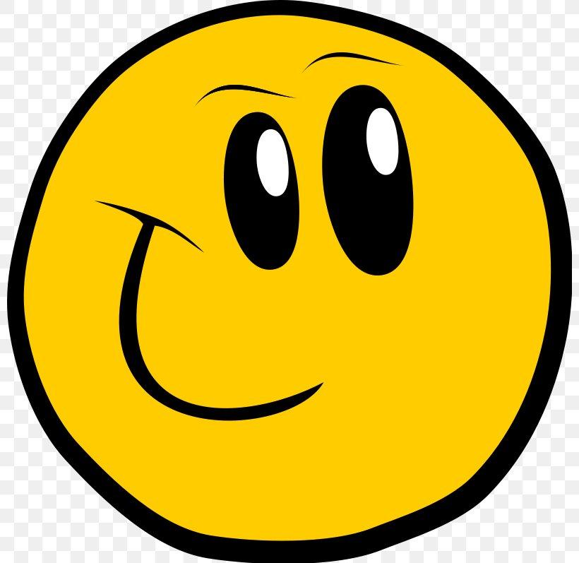 Smiley Cartoon Emoticon Clip Art, PNG, 800x797px, Smiley.