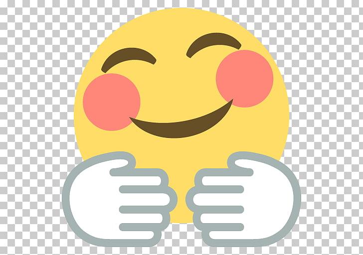 Emojipedia Hug Emoticon Smiley, Freedom Emoji s, yellow.