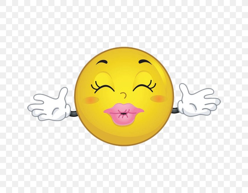 Kiss Emoticon Hug Smiley Clip Art, PNG, 640x640px, Kiss.