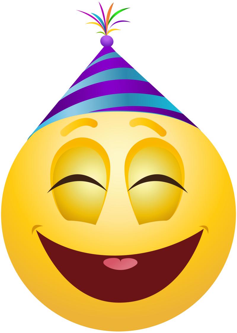 Download Free png party emoticon.