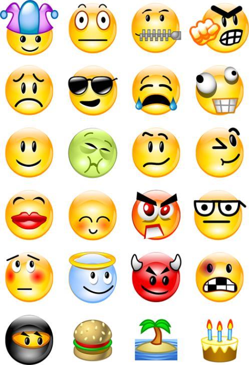 Faces Emotion Clipart.