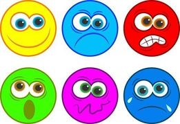 Emotion Clip Art For Kids.