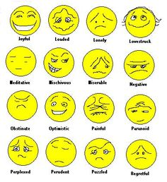 emotions clip art.