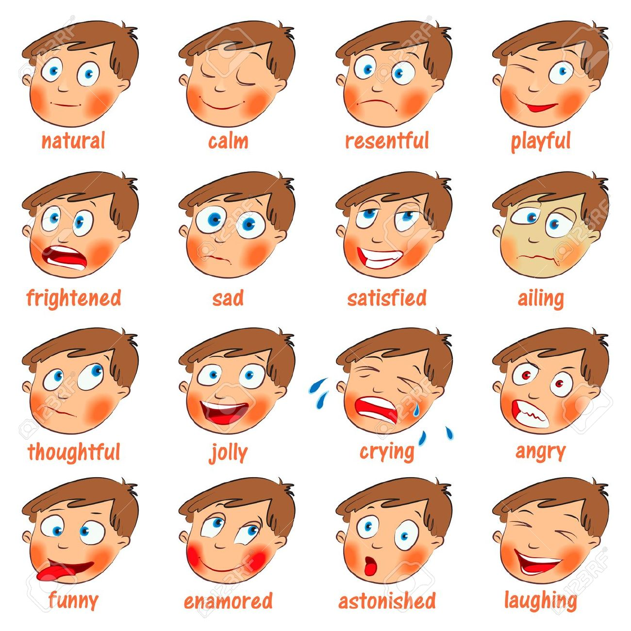 Showing post & media for Cartoon emotion words.