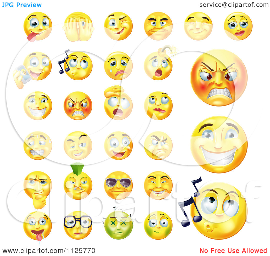 Expression Clipart Free.