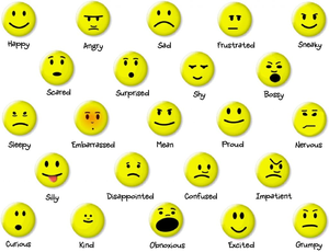 Esl Emotions Icon Clipart.
