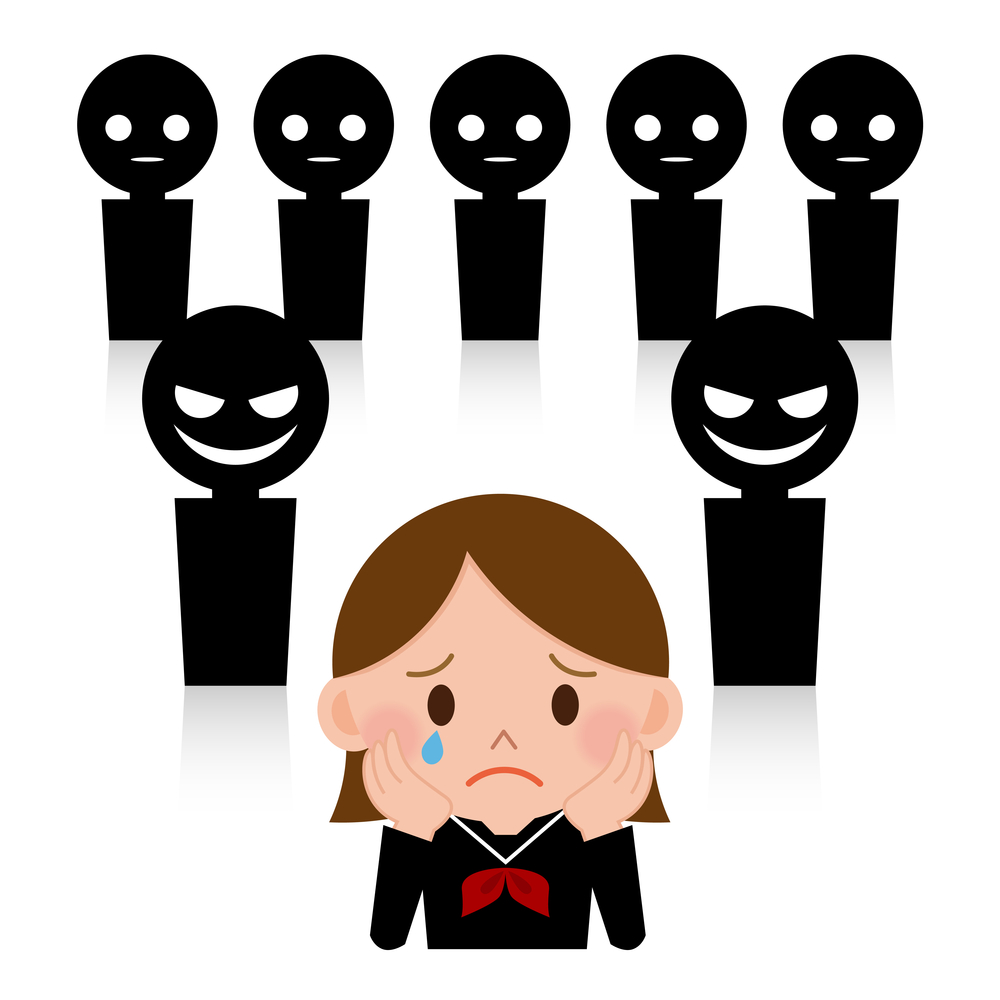 Emotional bullying clipart.