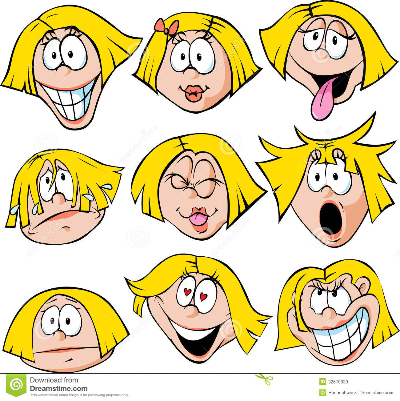 Emotions Clip Art For Adults.