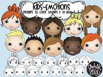 Emotions Clipart.