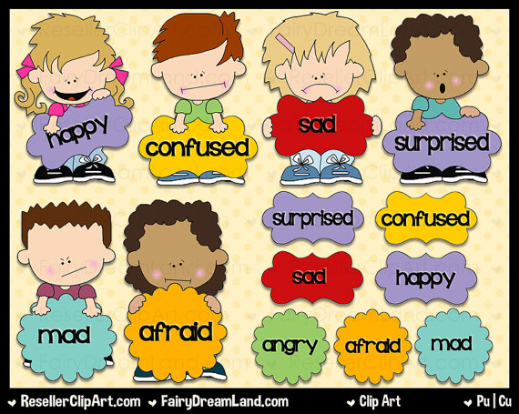 2174 Emotions free clipart.