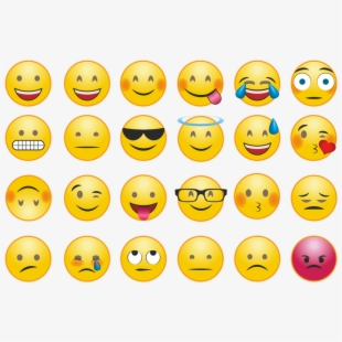 Smiley Face Clipart Emotions.