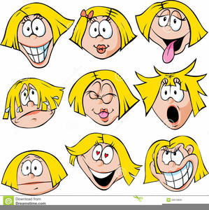 Free Clipart Of Faces Of Emotions.