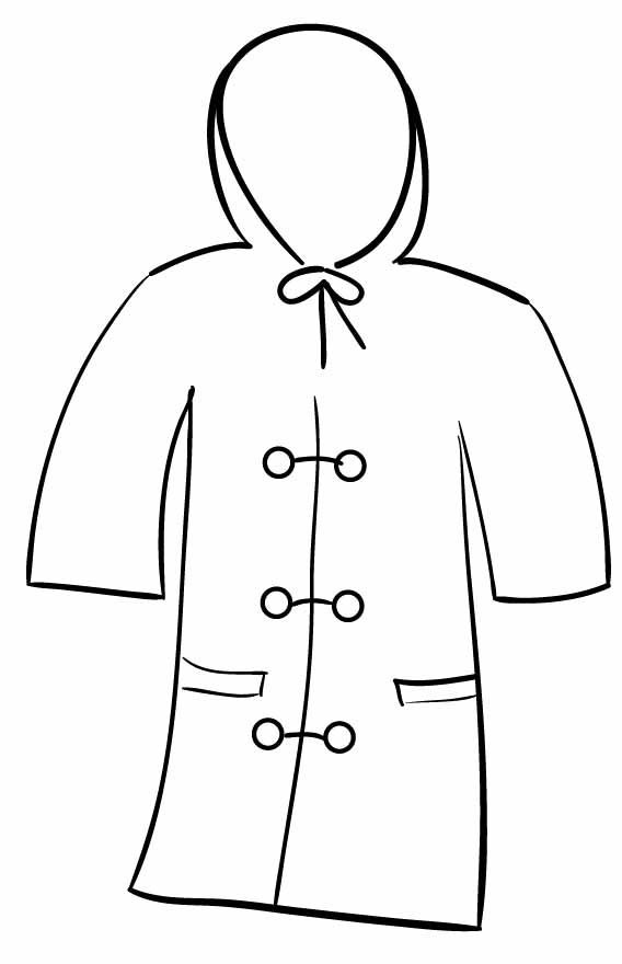 Winter Jacket Clipart.