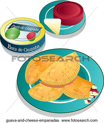 Stock Illustration of Empanadas empanadas.