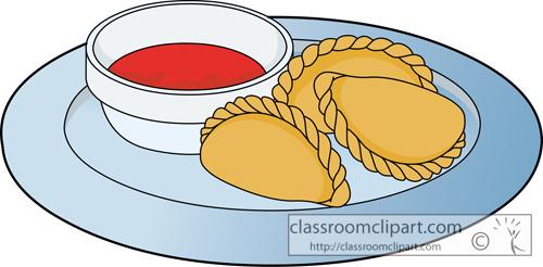 Empanada Clipart.