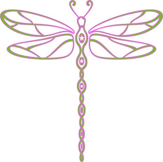 free dragonfly clip art.