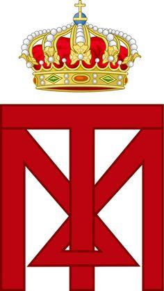 Imperial Monogram of Emperor Franz Joseph I of Austria. — in.