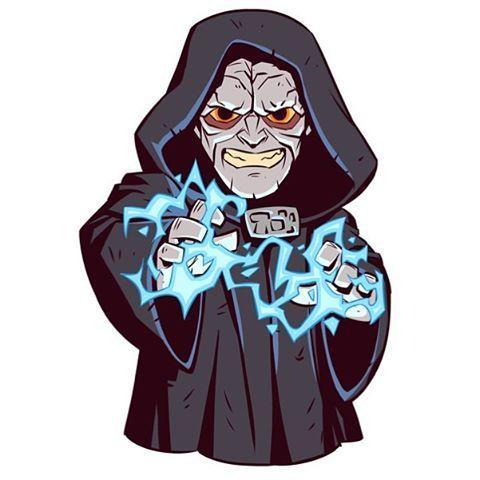 Join the dark side! #emperorpalpatine #starwars.