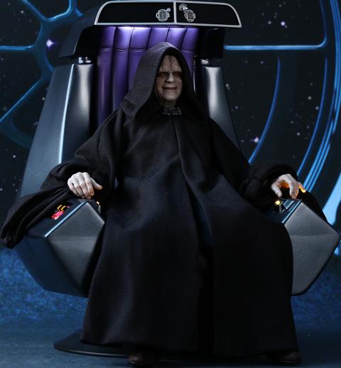 Star Wars Emperor Palpatine Deluxe Version Sixth Scale Figur.