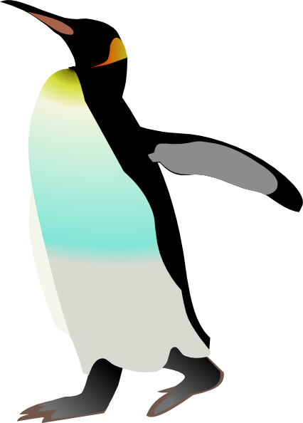 Emperor Penguin Clipart.