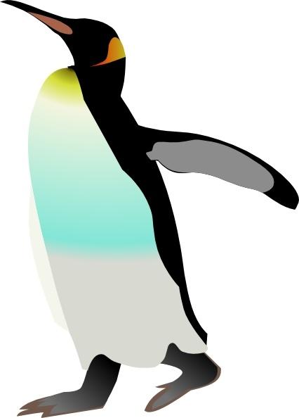 Emperor Penguin clip art Free vector in Open office drawing.