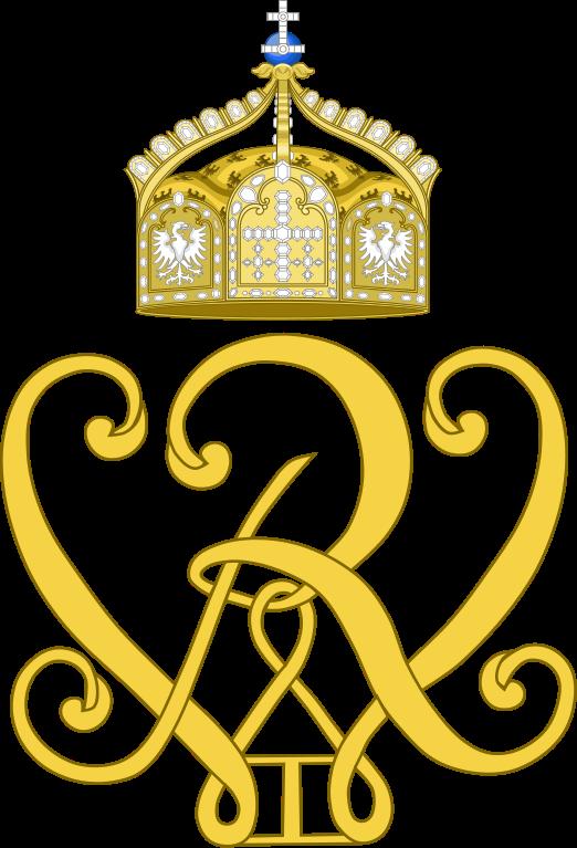 File:Imperial Monogram of Kaiser Wilhelm I.svg.