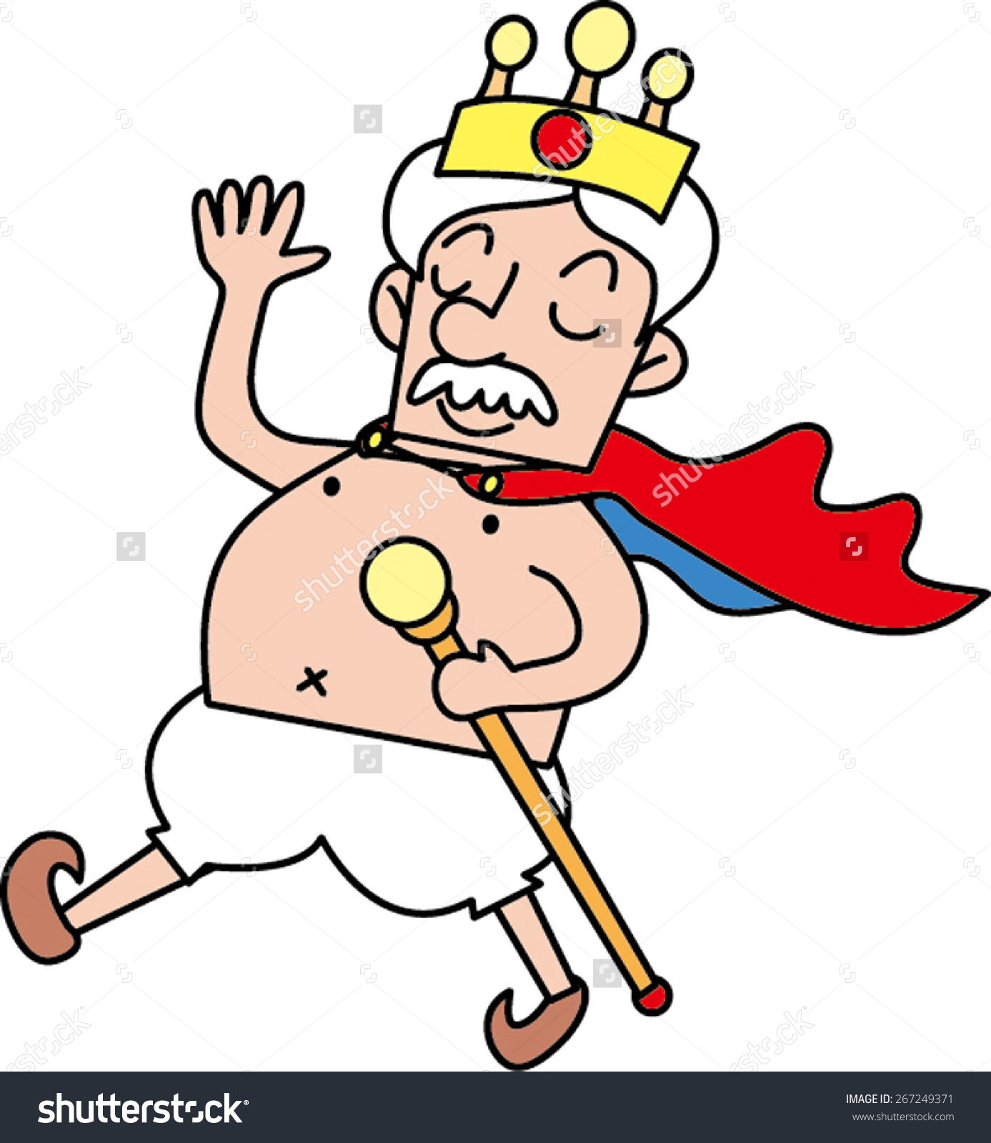 Emperors new clothes clipart.