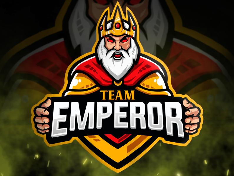 TEAM EMPEROR ESPORT LOGO by Artlien Studio on Dribbble.