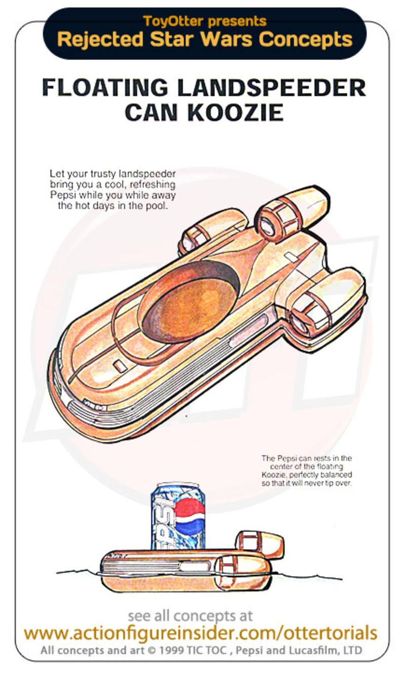 Rejected Star Wars Toys: George Lucas is denying you an inflatable.