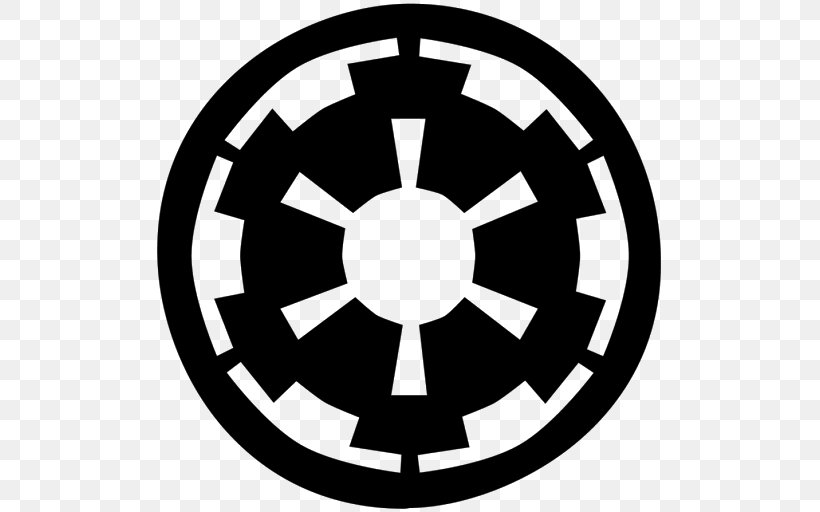 Galactic Empire Star Wars Stormtrooper Logo, PNG, 512x512px.