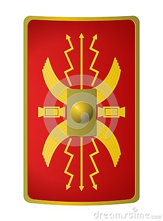 Roman Shield Royalty Free Stock Images.