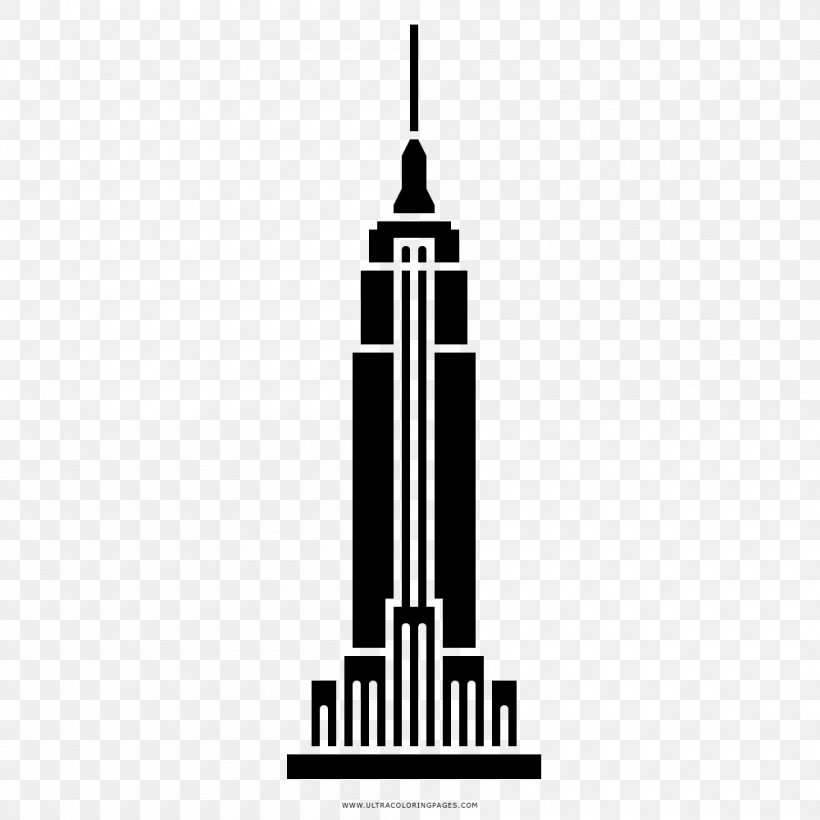 Empire State Building One World Trade Center Drawing Statue.