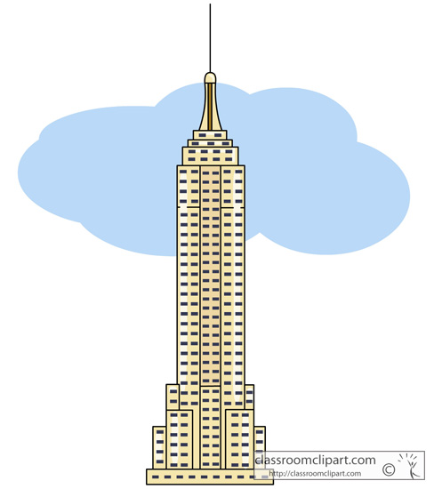 Empire State Building Clipart at GetDrawings.com.