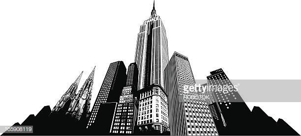 60 Top Empire State Building Stock Illustrations, Clip art, Cartoons.