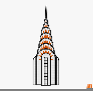 Empire State Building Free Clipart.