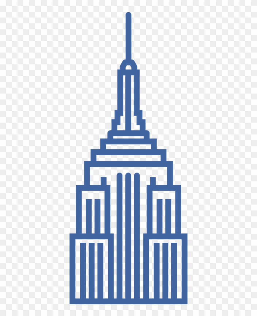 Empire State Building Clipart.