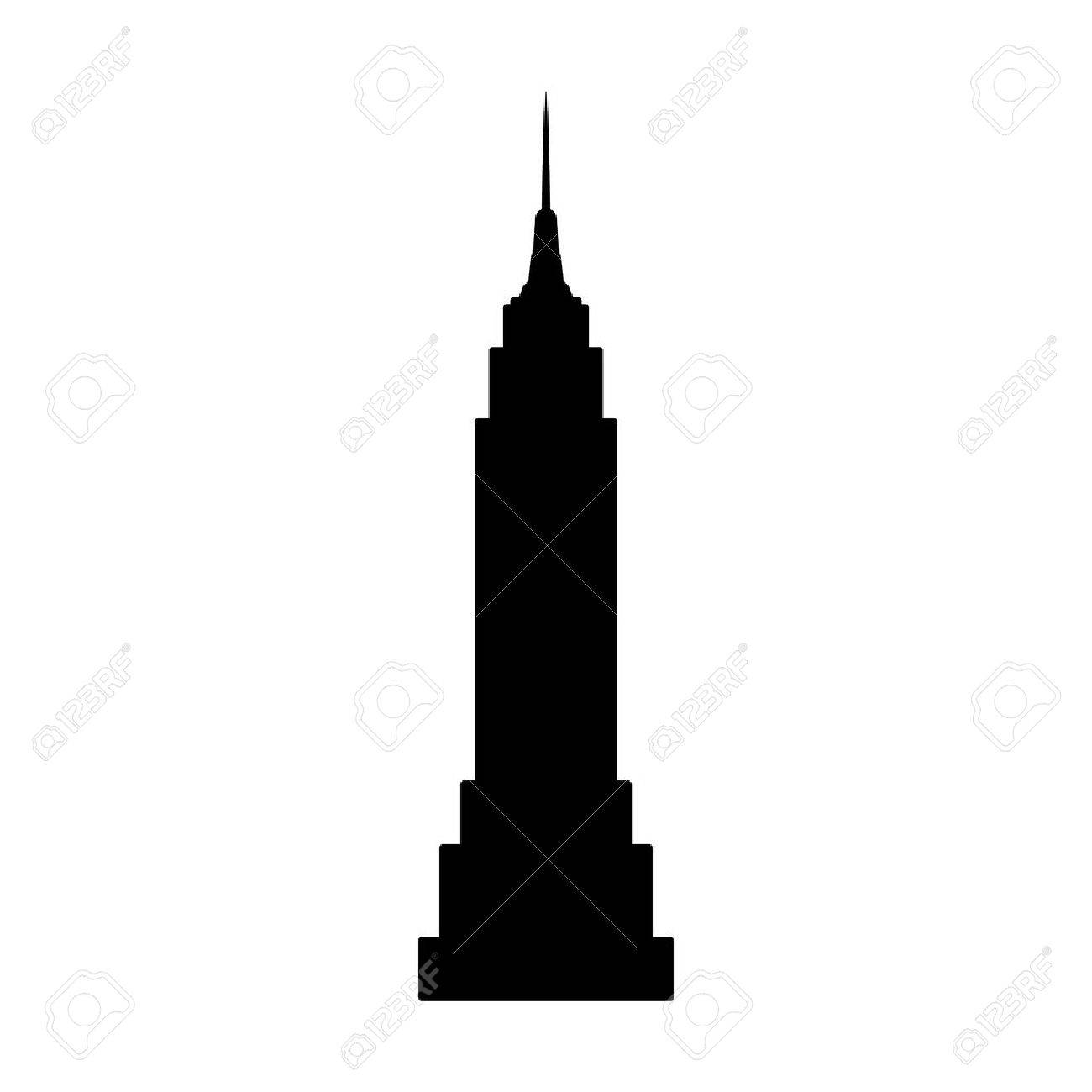 318 Empire State Building free clipart.