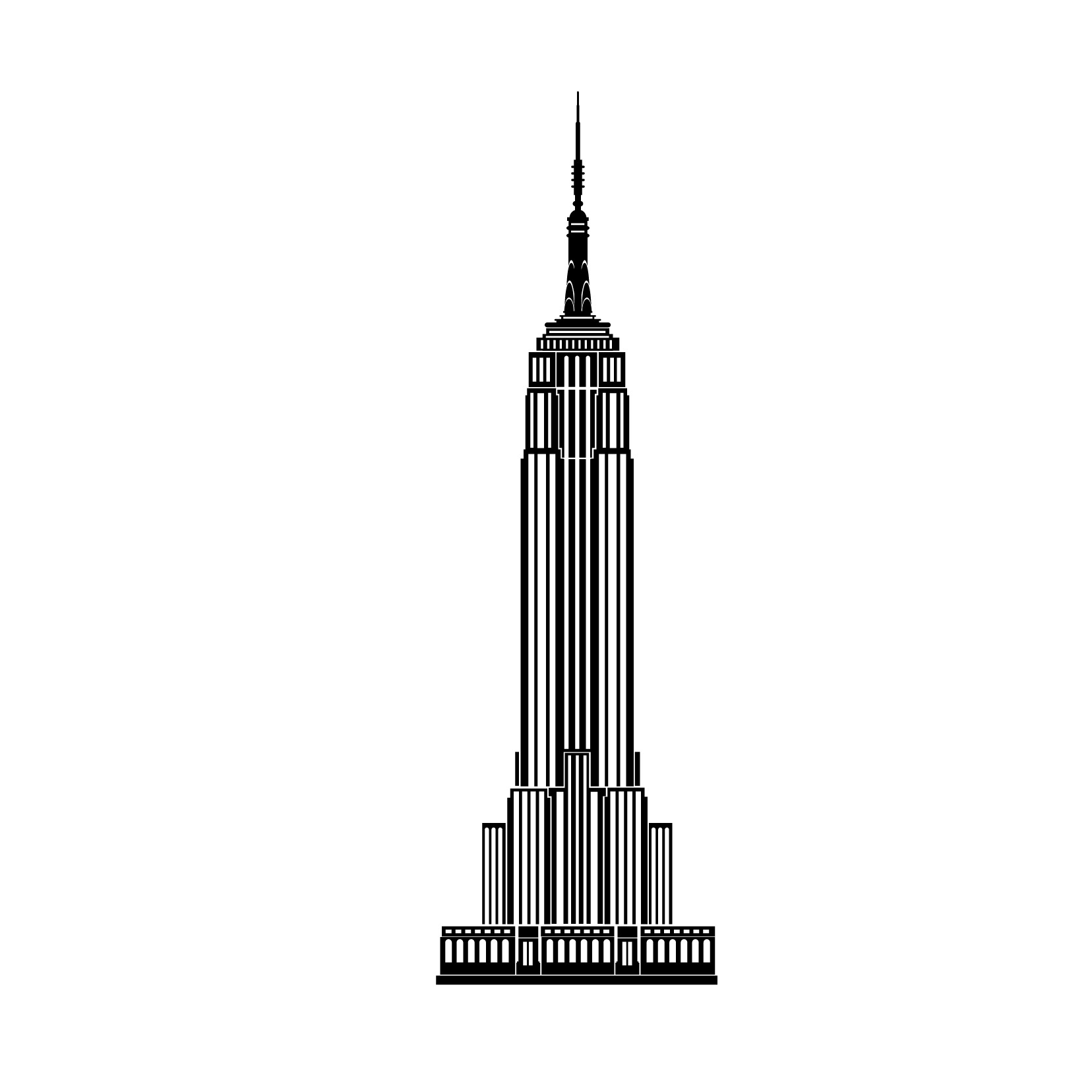 281 Empire State Building free clipart.