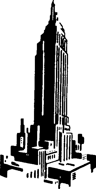 Empire state clipart - Clipground