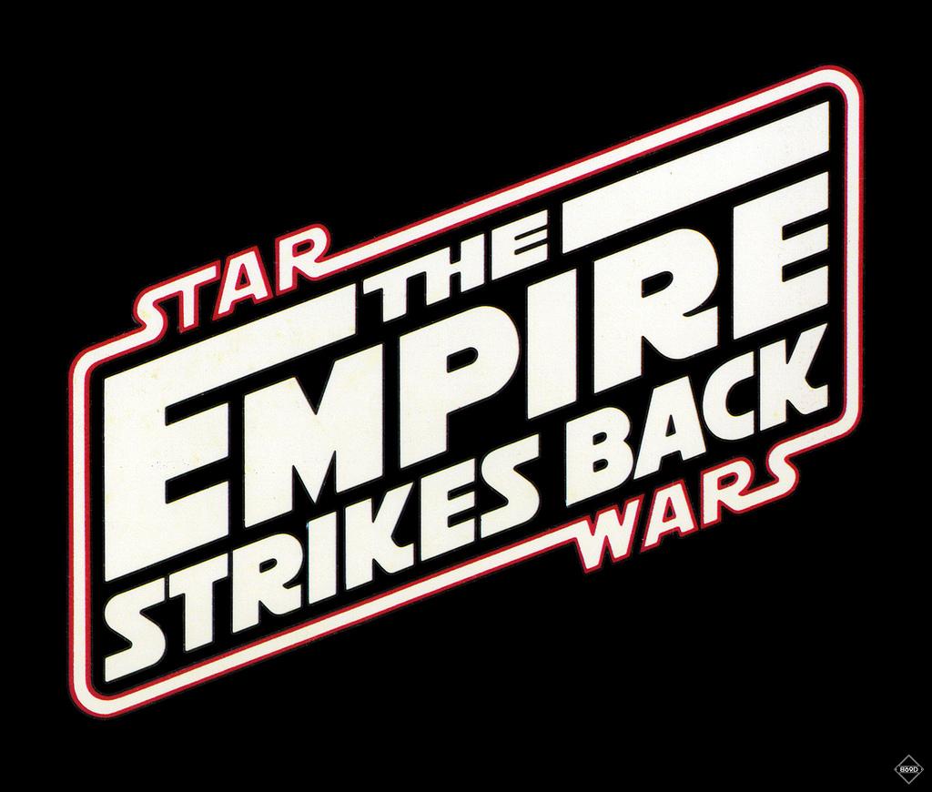 The Empire Strikes Back Logo.
