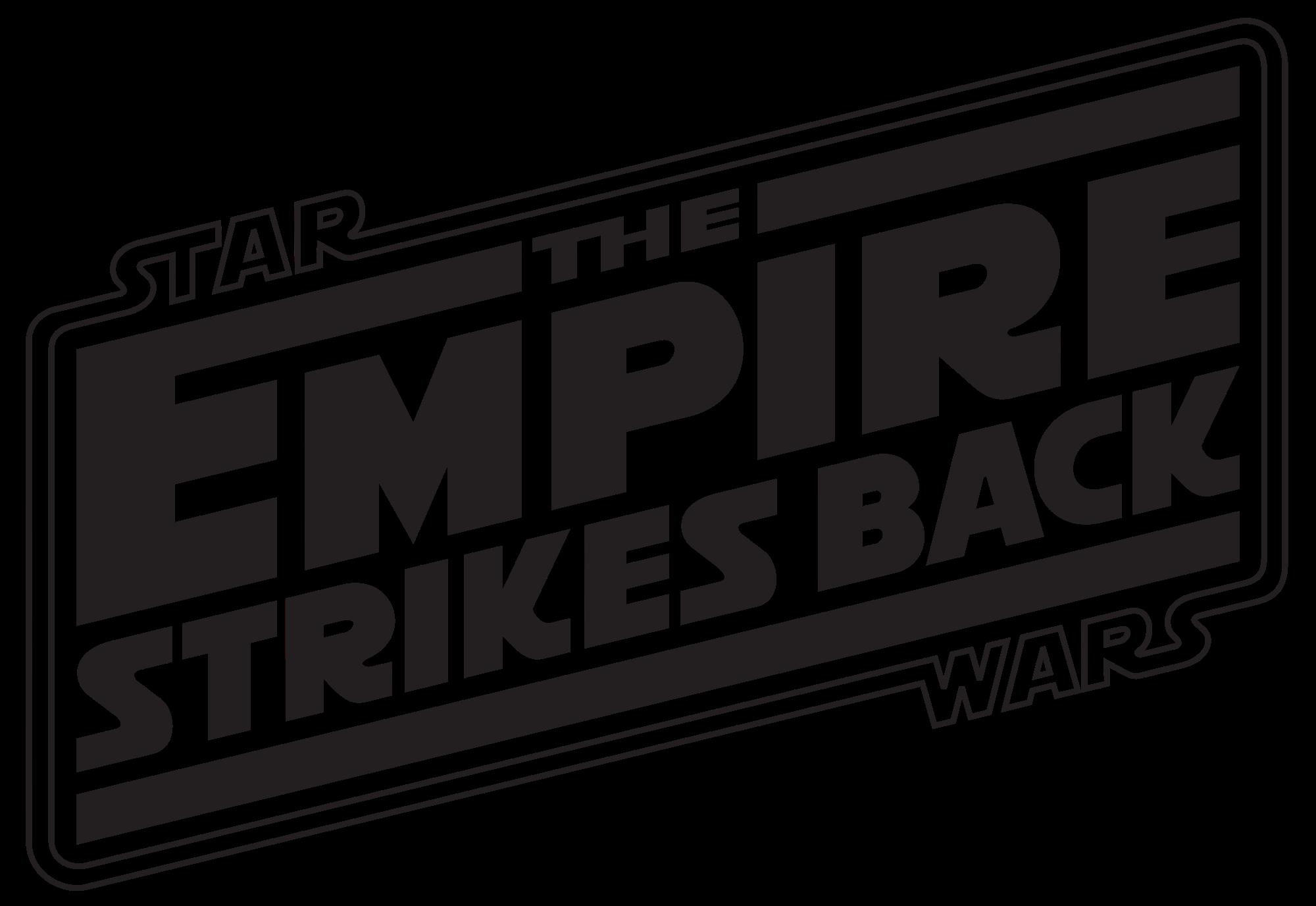 Image result for star wars empire strikes back logo.